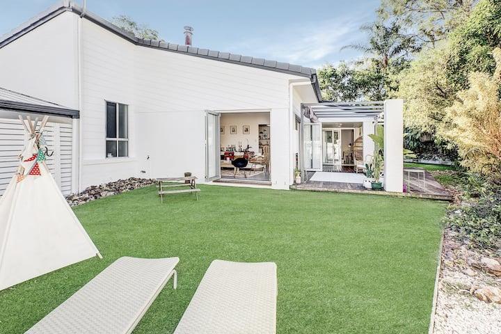 Californian inspired beach house
