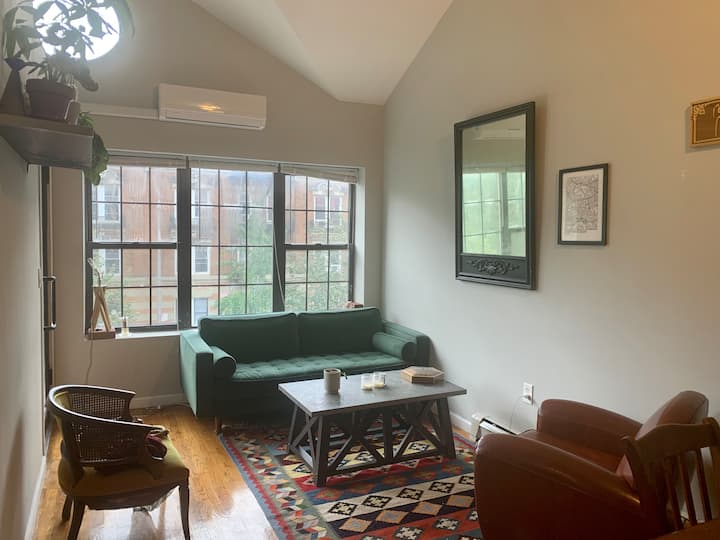 Spacious & Sunny Room in Large Apt w/Balcony