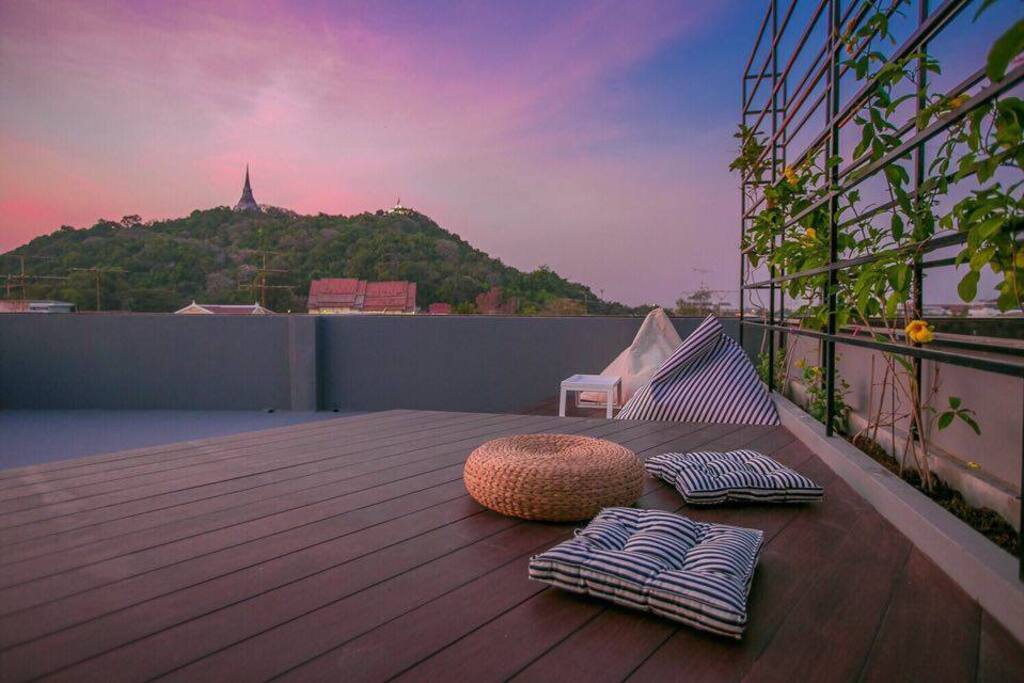 Rooftop Chillax area