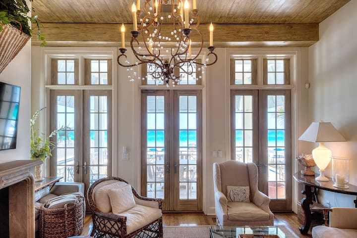 Extraordinary Beachfront - Rosemary Beach Area
