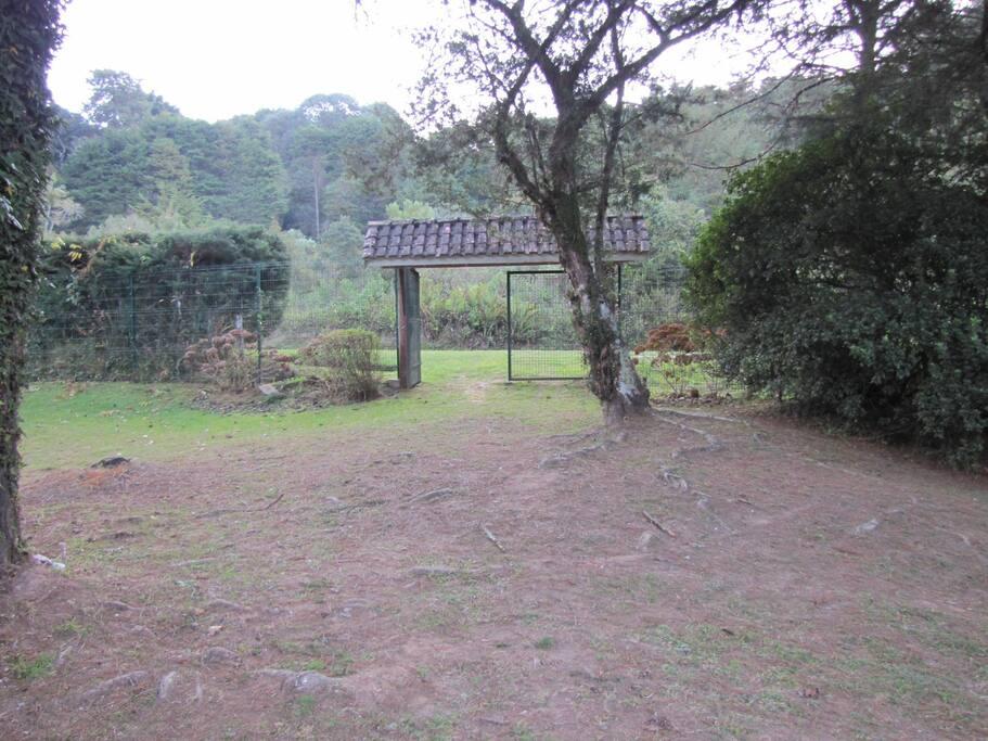 Vista Interna Portão Entrada
