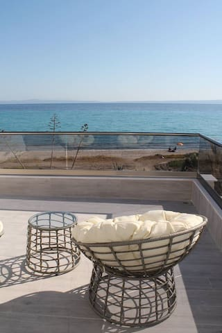 Chaniotis Luxury hous in the beach - Chaniotis - Hus