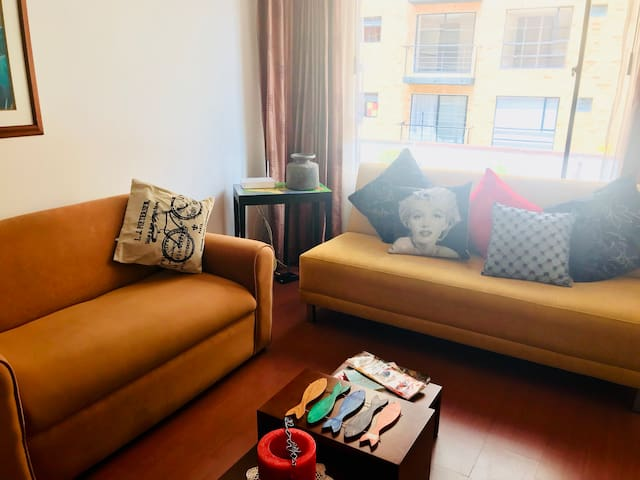 Apartamento cómodo y bien ubicado, Norte de Bogotá