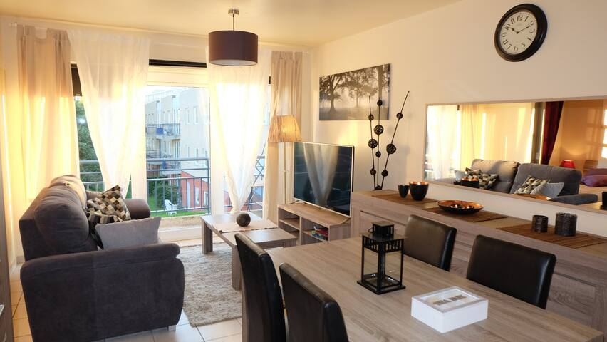 B&B cozy one bedroom apartment. - Gent - Apartment