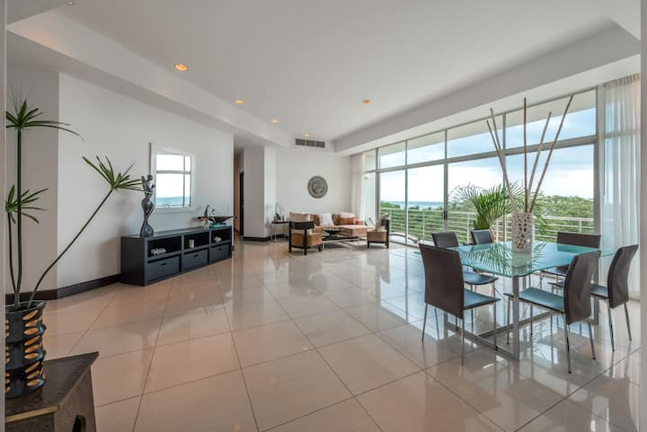 Modern apartment, full ocean view, walk to it all
