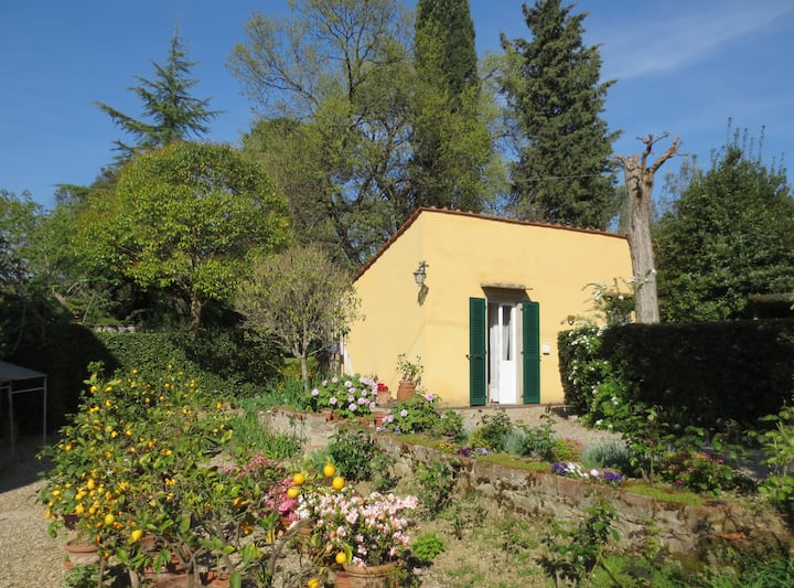 Two-room house in green of Florence