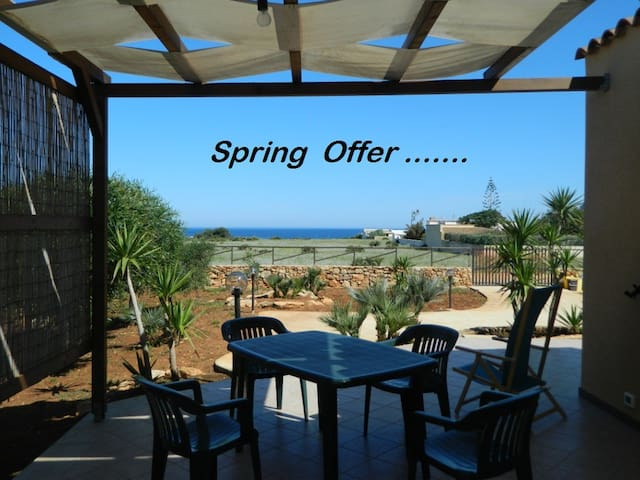 SPRING-OFFER ,  two-room apartment  SEA VIEW!!! - CUSTONACI