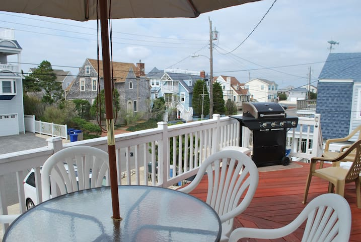 Brant Beach Duplex, dog friendly - Long Beach Township - Apartment