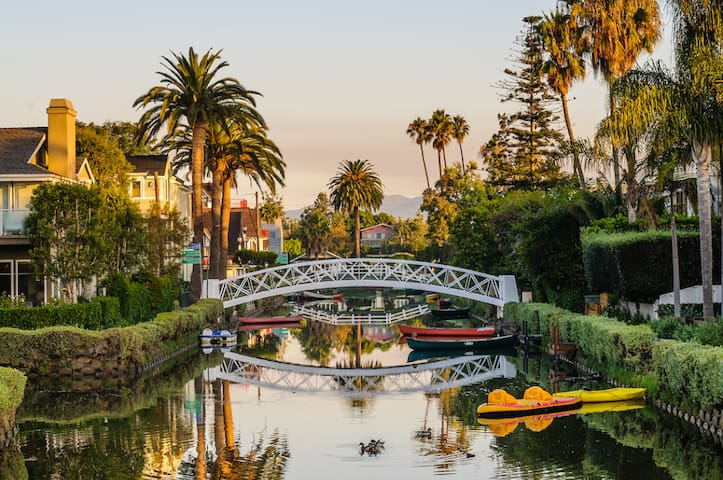 The Venice Canals are a great place for a walk