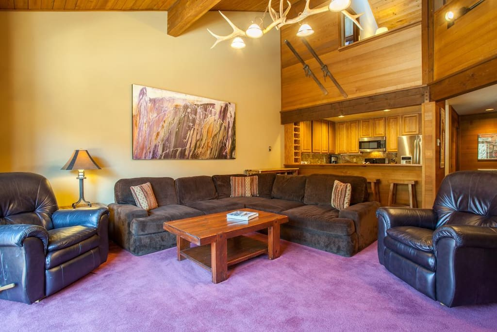 Living Room, sectional couch,