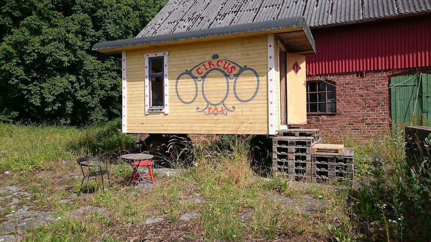 Circus wagon outside Lund - Lund - Chalet