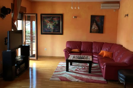 Big apartment with a Parking space - Podgorica - Pis