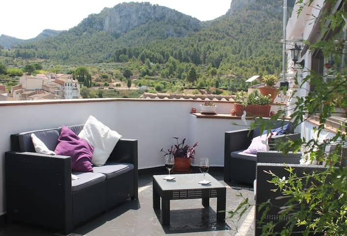 Casa Tipica, Tivissa Townhouse - Tivissa - Appartement