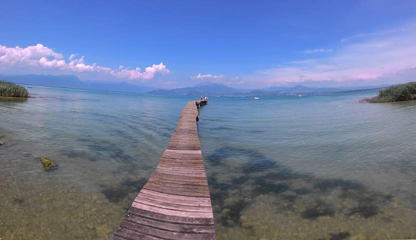 Residence overlooking Garda Lake - Peschiera del Garda - Apartamento
