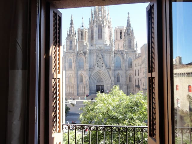 Cathedral Square Exclusive View C3 - Barcelona - Apartment