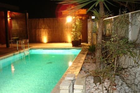 House with pool (5min to the beach) - Santa Maria da Feira - Huis