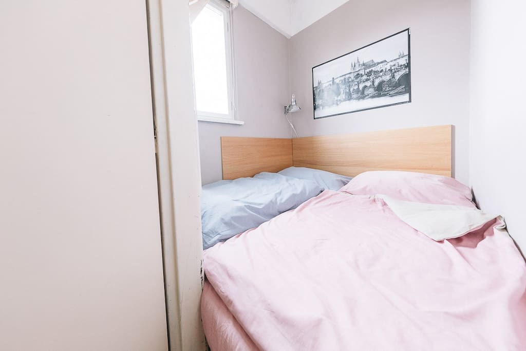 Second party of your room – double bed.