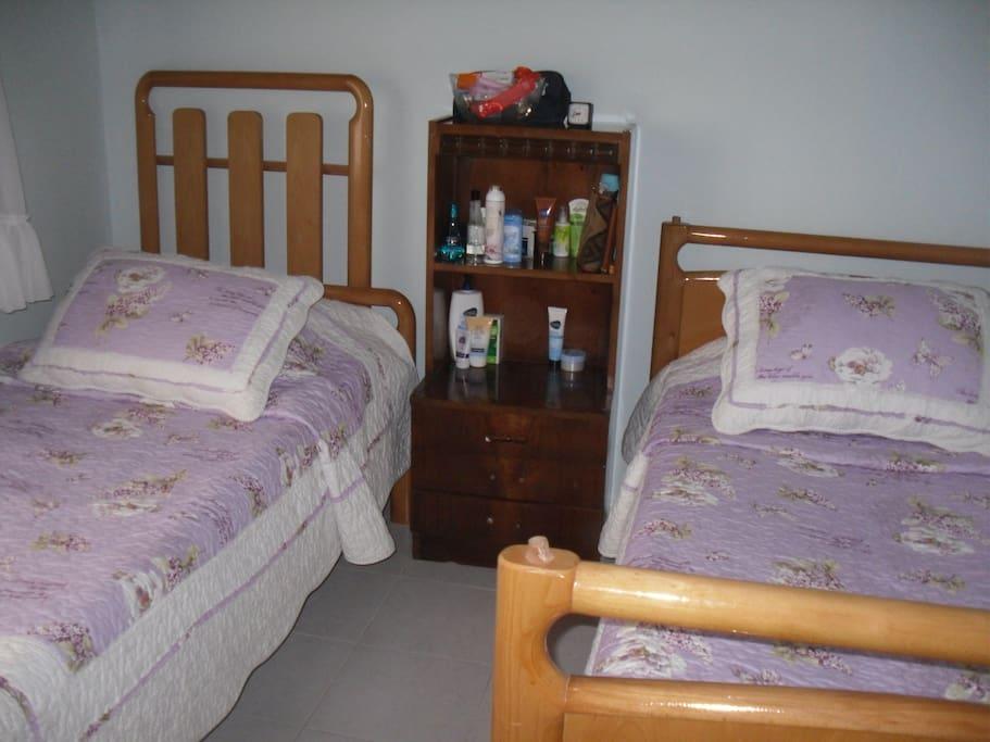 İki kişilik yatak odası