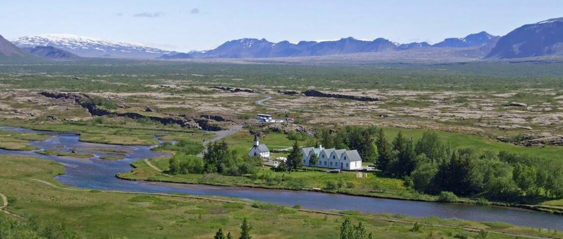 Þingvellir 1 hour away