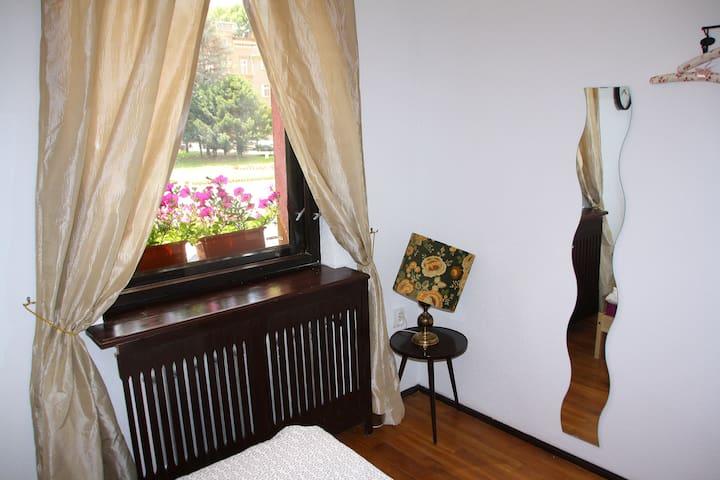 Pokój nr 1 dla 2 osób - double bed. - Ząbkowice Śląskie
