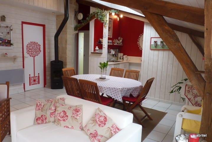 Gîte La Rose de bois - Doué-la-Fontaine - House