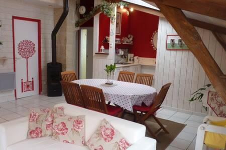 Gîte La Rose de bois - Doué-la-Fontaine