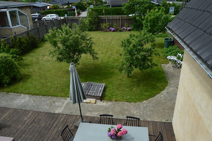 Private garden and terrace