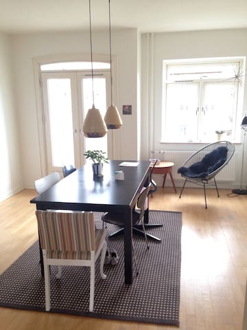 Cozy apartment in Copenhagen with green area near