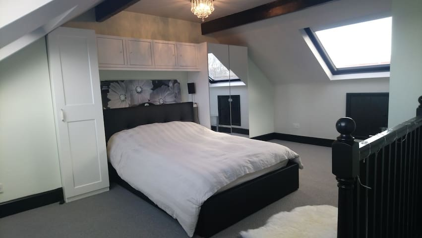 Light and Airy Loft Conversion with en suite
