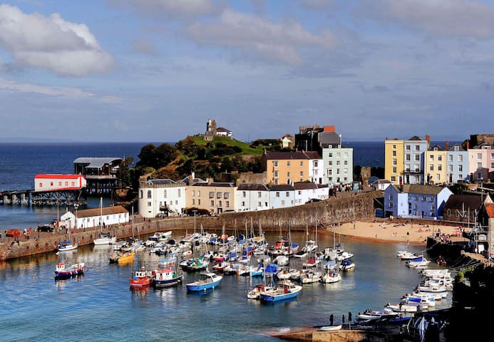 Spectacular Harbourside Home A,Tenby,Pembrokeshire