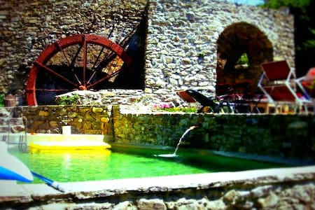 OLD OLIVE MILL - UNIQUE haven - Pigna - วิลล่า