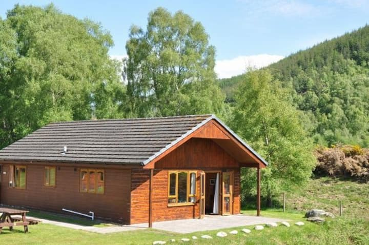 Glomach lodge at Lochletter