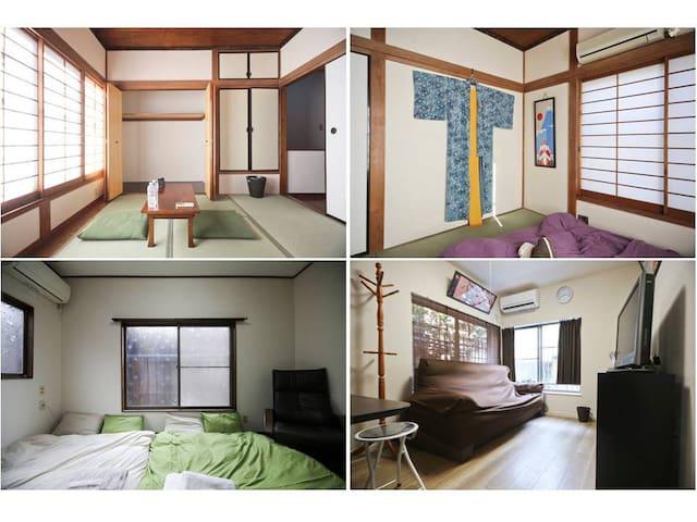 8 people stay/2LDK/Metro station 5min/Tatami room/ - Sumida-ku - House