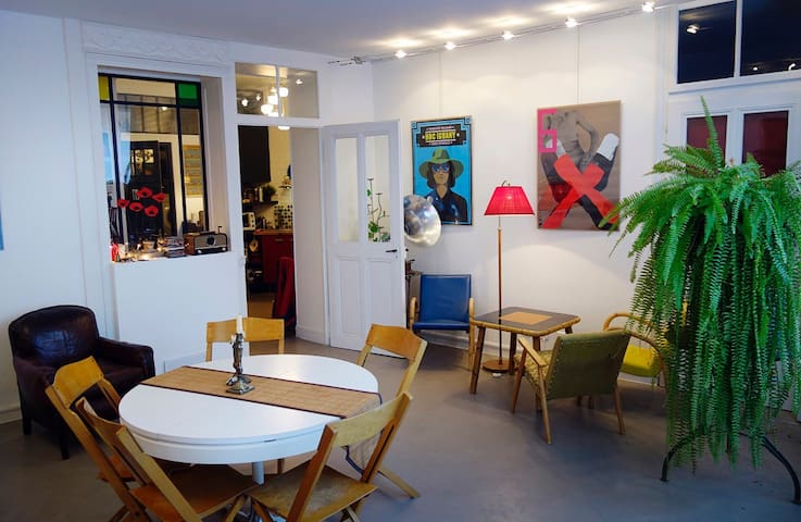 Appartement d'artiste 70 m2