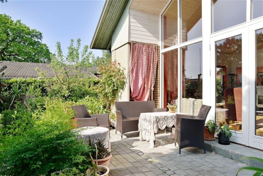 Stort hus nær Djurs Sommerland og Aarhus - Villaer til leje i Hornslet, Danmark