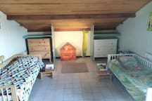Maison 3 chambres et piscine à Hourtin centre