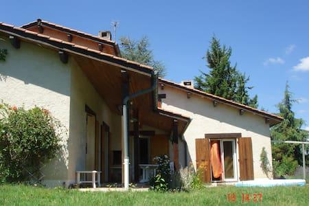 Villa 170m2 très calmeavec piscine - Saint-Antoine-l'Abbaye - Ev