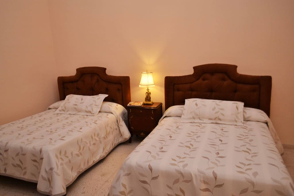 2 x Double beds in each room
