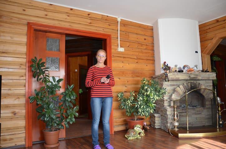 Дом на берегу Байкала, - Листвянка - Casa