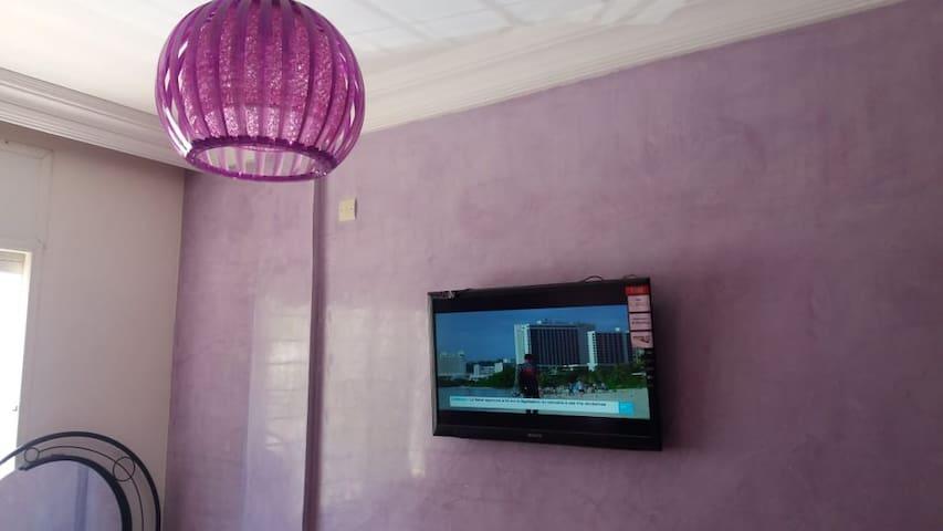 TV bed room