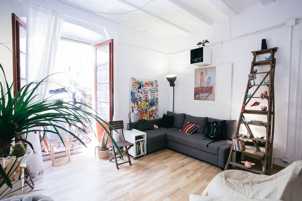 Chill out big double room apartments for rent in - Chill out barcelona ...