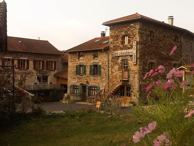 Les chambres d'à côté - Berbezit - Oda + Kahvaltı