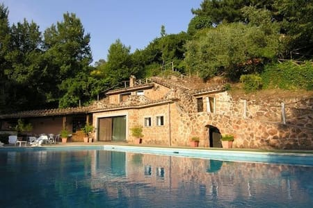Villa with pool next to Rome - Formello