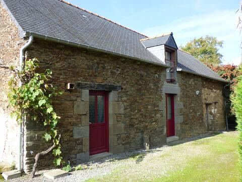 Maison au calme avec étang (Rennes,Dinan,St-Malo)