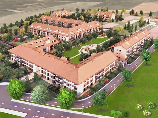 trilocale arredato - San Giuliano Milanese - Apartament