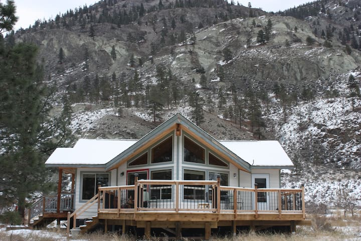 The EAGLES NEST...     Blue Sky Riverfront Retreat - Spences Bridge - บ้าน