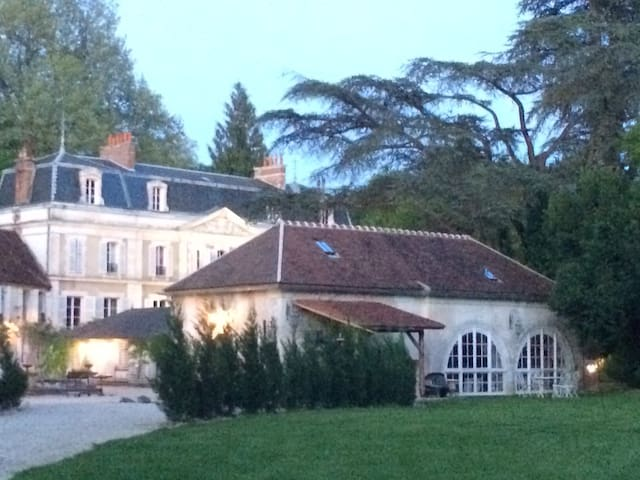 Authentic orangery of the Manor - Escolives-Sainte-Camille - Casa