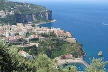 Vico Equense, una finestra sul Golfo di Napoli