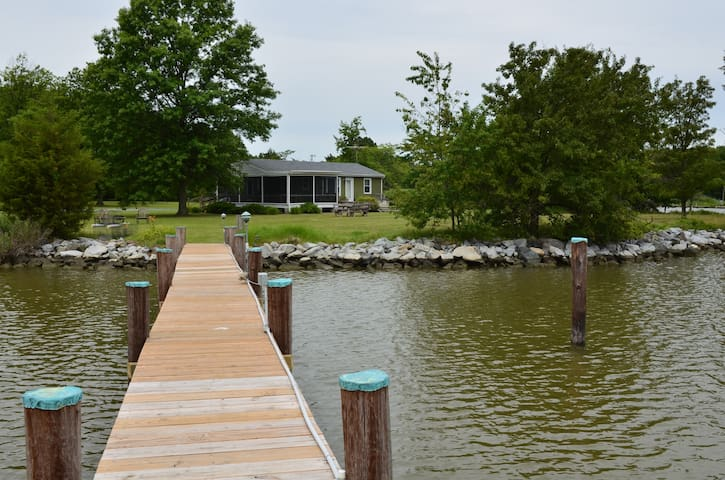 Cozy Waterfront Cottage MD - Cambridge - Talo
