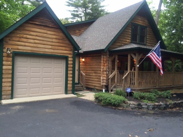 Lake George Log Cabin - Lake George - Rumah